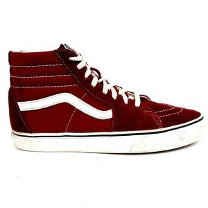 VANS Off The Wall SK8-Hi Men's Suede Skate Shoe 8